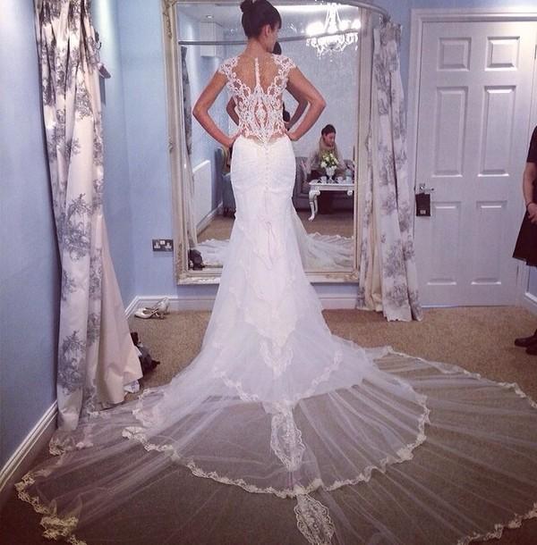 dress wedding dress lace wedding dress wedding white dress blue dress