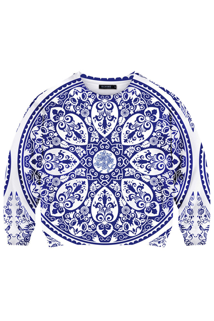 ROMWE | Ceramic Print Sweatshirt, The Latest Street Fashion