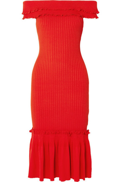 Jonathan Simkhai dress midi dress midi knit