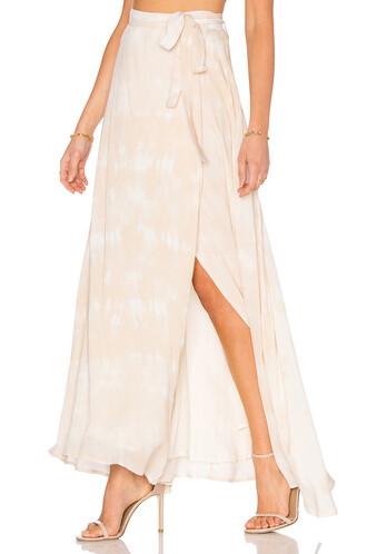 skirt maxi skirt maxi cream