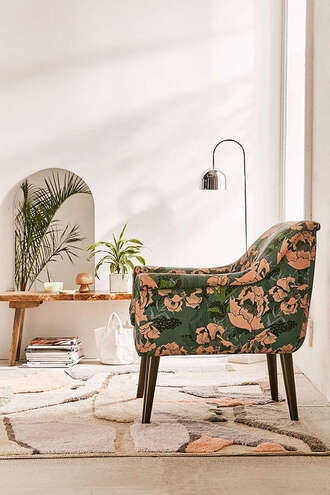 home accessory home decor home furniture sofa chair tropical floral