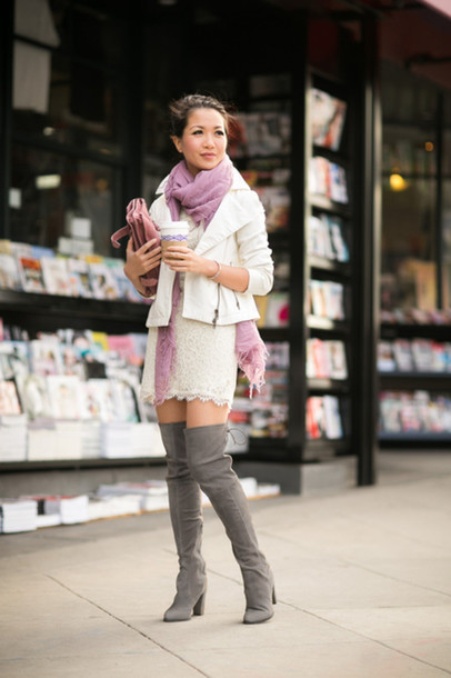 wendy's lookbook jacket dress bag shoes jewels scarf