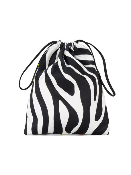 mini zebra women pouch print black zebra print bag