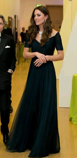 dress kate middleton black dress
