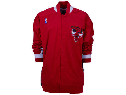 Chicago Bulls Mitchell and Ness Red 92-93 Mitchell and Ness NBA Authentic Warm-Up Jacket | Lids.com