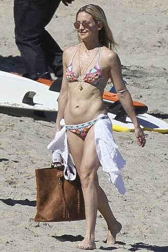 swimwear two-piece bikini bikini bottoms bikini top kate hudson