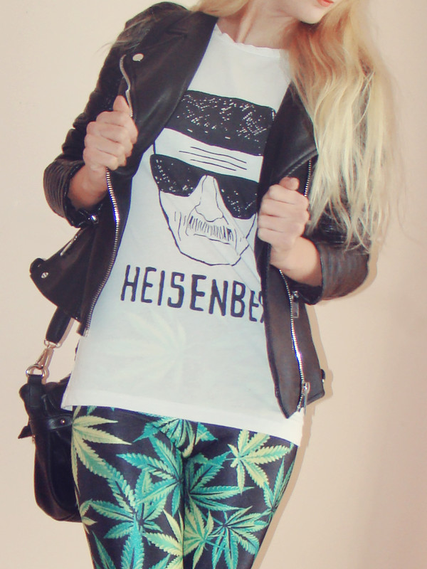 charmeuse blogger top jacket Breaking Bad heisenberg