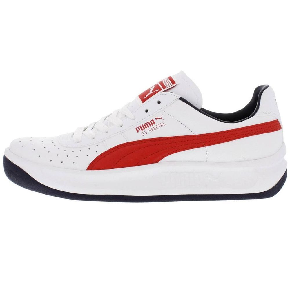 717e1f20c40c PUMA GV SPECIAL 343569 82 WHITEREDPEACOAT NAVY BLUE - LEATHER CASUAL  ATHLETIC ...