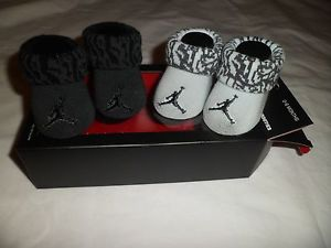 Nike AIR Jordan Baby Infant Boys Crib Shoes Booties Socks 0 6 M Newborn NEW  | eBay