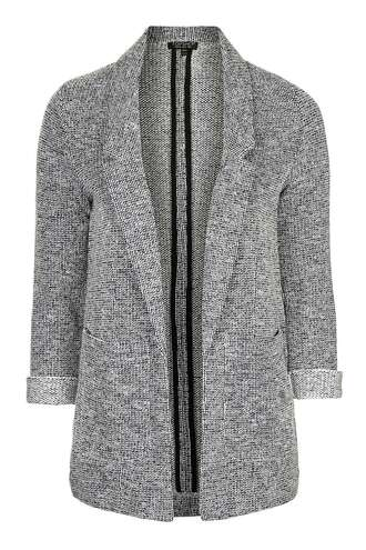 jacket blazer outerwear topshop clothes grey