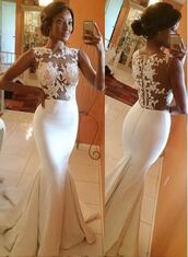 wedding dress,white prom dress,mermaid prom dress,lace prom dress,lace dress,dress,white,long gown,wedding,wedding dress lace,mermaid style,white dress,prom dress,prom gown,formal event outfit,white lace prom dress,mermaid,gown,gorgeous mermaid prom dress,white fishtail dress,prom,long prom dress,long dress,whtie prom dresses,white lace,stylish,white lace dress,white lace dress prom  floral,fishtail,fishtail dress,scoop neckline,ivory dress,trumpet skirt,tight,zipper dress,sleeveless,court train,2016 prom dresses,girly,girl,girly wishlist,bride,engagement ring,amazing,style,fashion,trendy,long bridesmaid dress,siren dress
