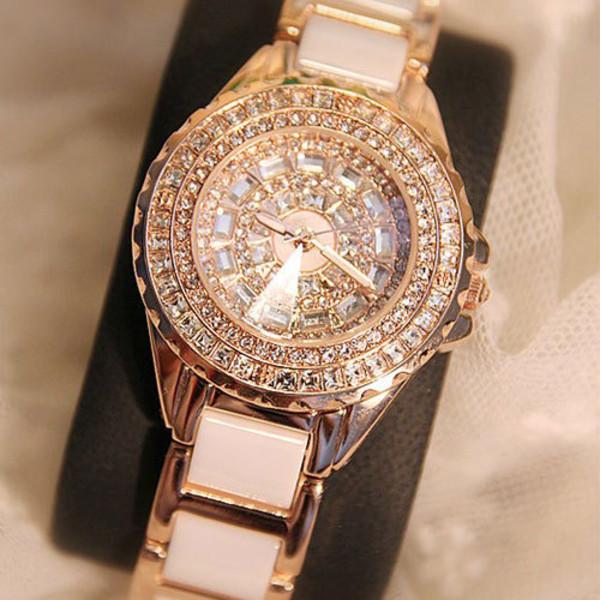 jewels watch fashion luxury white