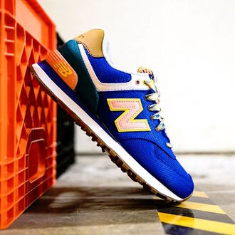 shoes new balance nike nike sneakers blue sneakers royal blue zappos classic