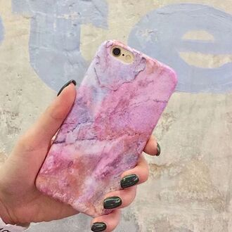 phone cover yeah bunny marble iphone pink space cute iphone case