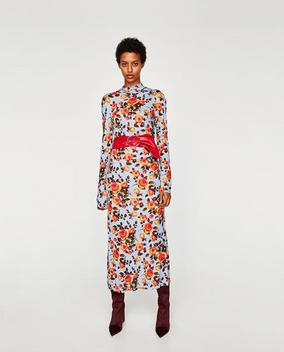 1f6041f2afc FLORAL PRINT DRESS - View all-DRESSES-WOMAN