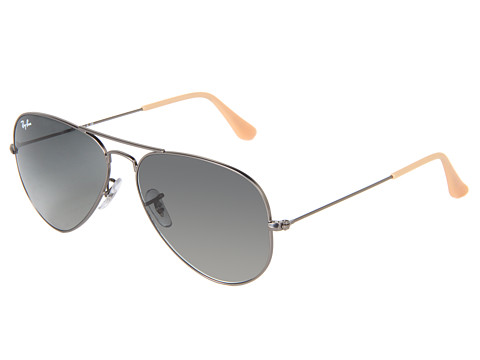 Ray-Ban 3025 Original Aviator size 58mm   Gray/Green - Zappos.com Free Shipping BOTH Ways