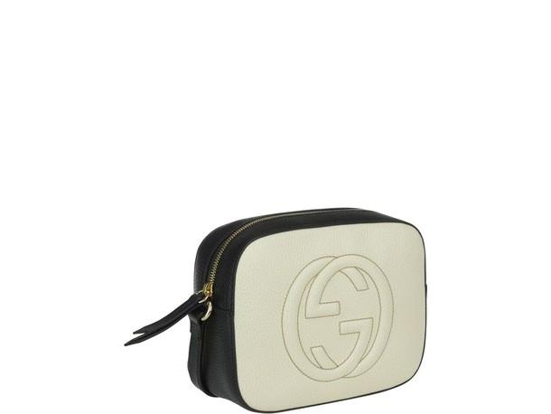 gucci bag white black