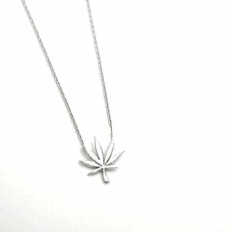 Tokin' Necklace- Silver