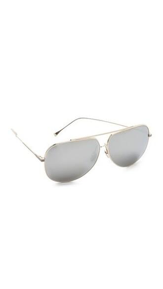 sunglasses gold silver