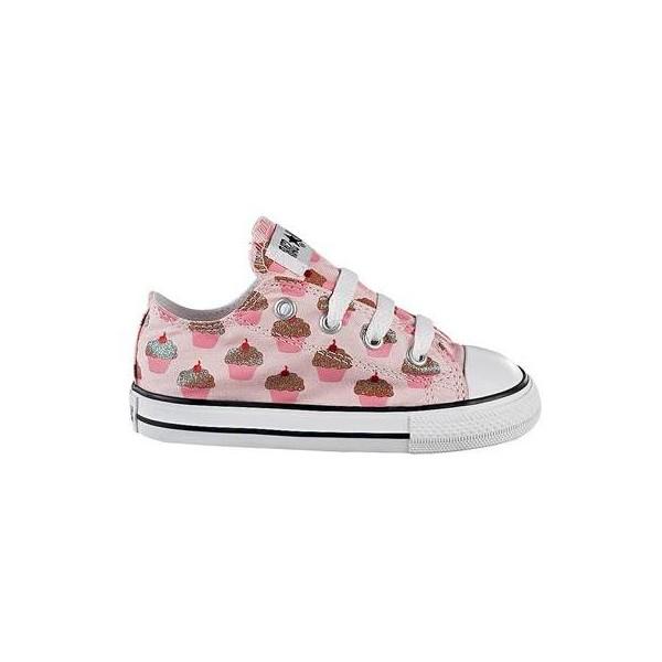 Toddler Converse All Star Cupcakes, Pink, at Journeys Kidz