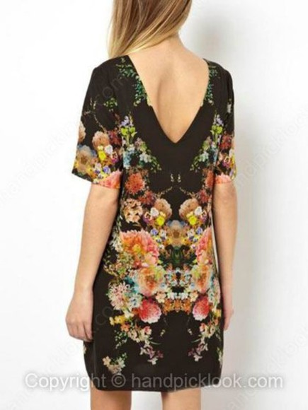 dress little black dress floral floral dress low back dress low back v back v back dress