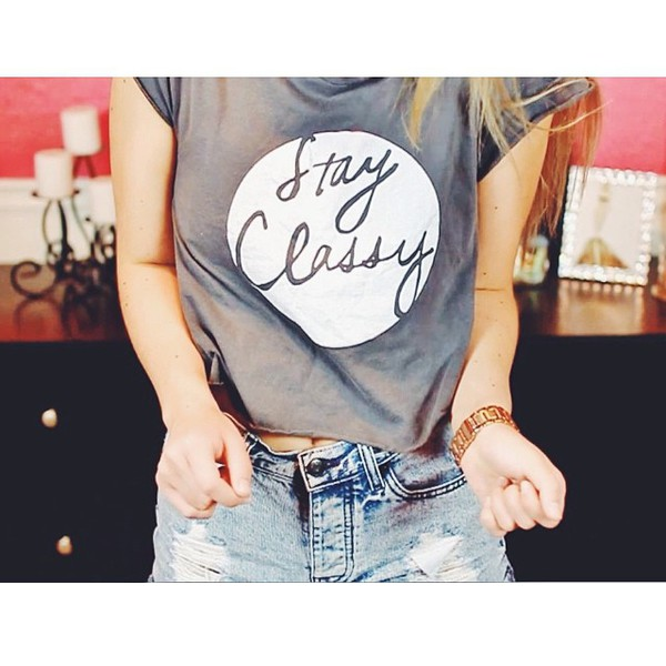t-shirt t-shirt grey glamour girly rosy blog instagram idk fab
