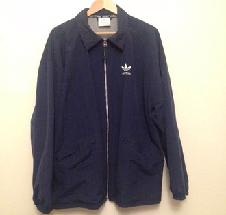 coat black coat adidas adidas coat adidas jackets sweatsuit zip collar logo