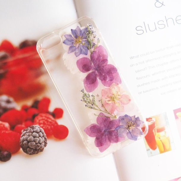 Phone Cover Shabibisheep Purple Pink Flowers Floral Case Hydrangea Lovely Cool Pattern