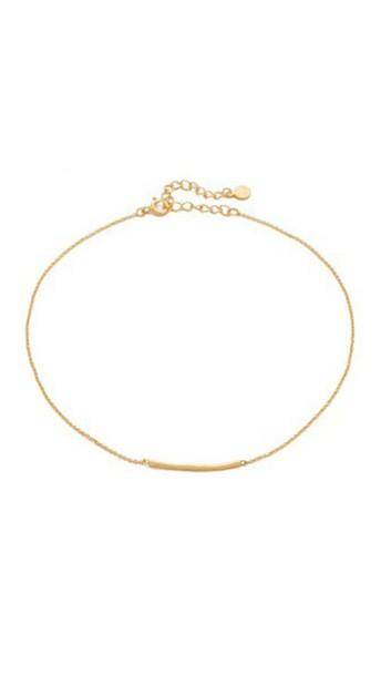 Gorjana Taner Bar Choker Necklace - Gold