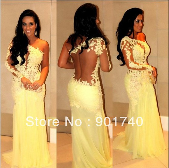 yellow prom homecoming dress sleeveless backless party dress chiffon 312 dresses for prom