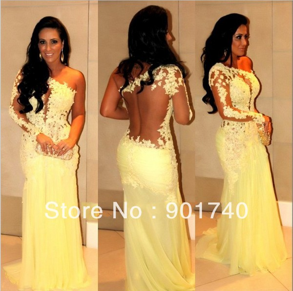 yellow prom homecoming sleeveless open back party dress chiffon 312 prom dress