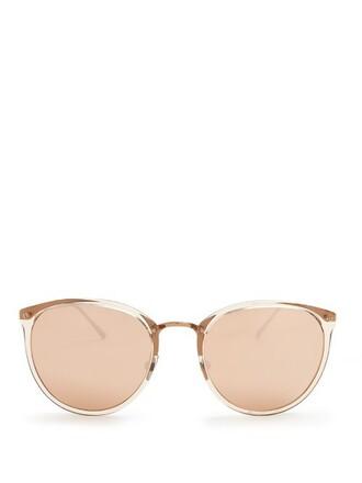 rose sunglasses gold rose gold