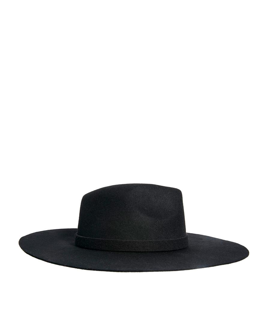 ASOS Oversized Felt Fedora Hat at asos.com
