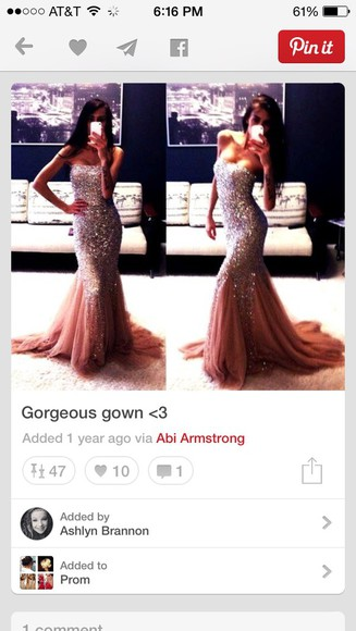 jovani bling long homecoming dress pageant