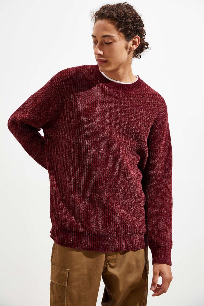 UO Chenille Crew Neck Sweater