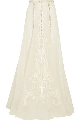 skirt maxi skirt maxi embroidered embellished silk