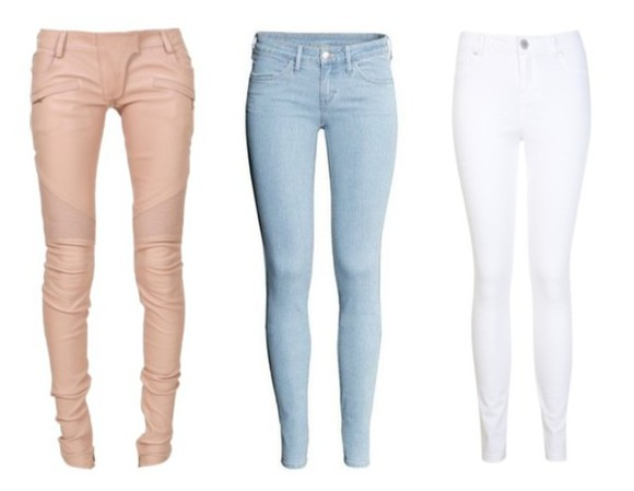 jeans white pants blue blue pants pink pink pants pink pants, diamonds, glitter, shine, ghetto, tumblr, blue pants, sunglasses blue pants jeans  summer white jeans blouse necklace white jeans