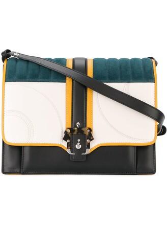 quilted bag shoulder bag black