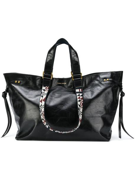 Isabel Marant women leather black bag