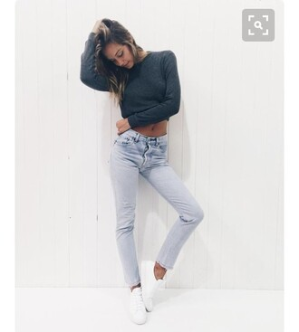 pants shirt jeans alexis ren cute pretty shoes long shirt tumblr good vibes skinny jeans