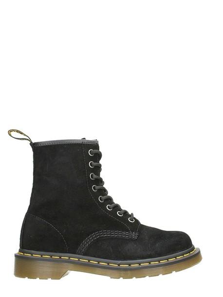 Dr. Martens suede boots suede black shoes