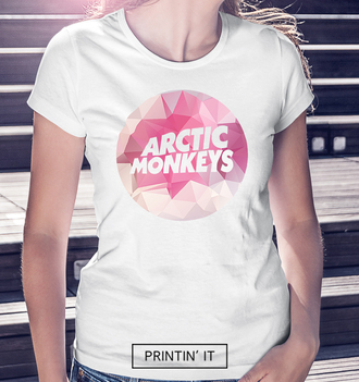 shirt arctic monkeys t-shirt white t-shirt polygonal geometric pink alex turner fashion summer shirt summer boho tumblr clothes tumblr shirt
