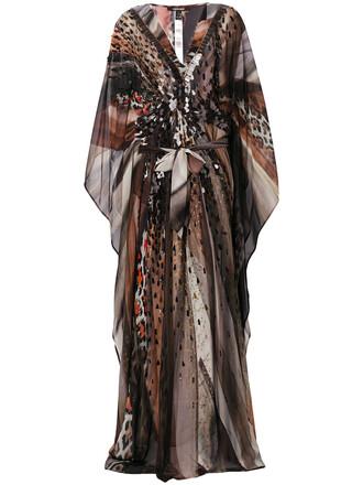 dress heart women embellished silk
