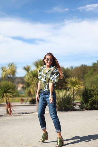 b a r t a b a c blogger top jeans shoes bag sunglasses