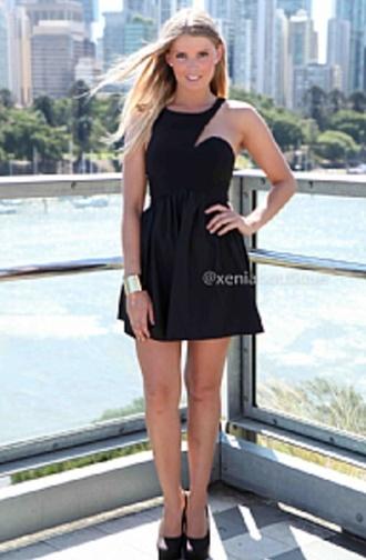 skater dress little black dress pretty dress