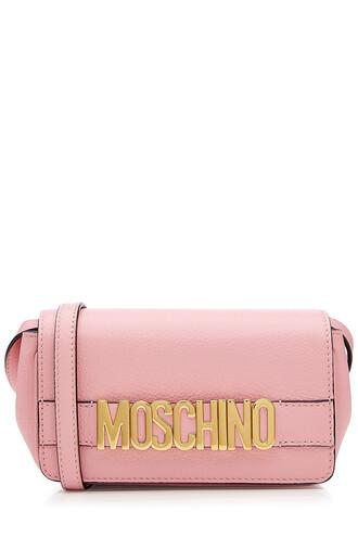 bag shoulder bag leather rose