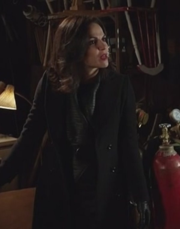 Coat: evil queen, lana parrilla, once upon a time show ...
