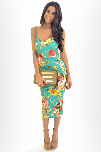 dress style fashion 393931 290716 pencil dress floral bodycon dress evening dress trendy