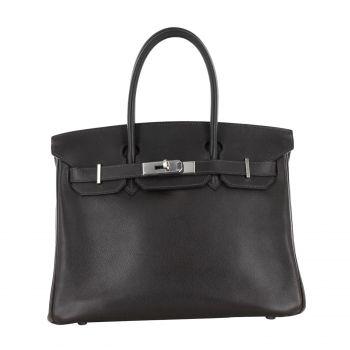 Sac à main Hermès Birkin 30 Marron Cuir réf. A62420 - Instant Luxe