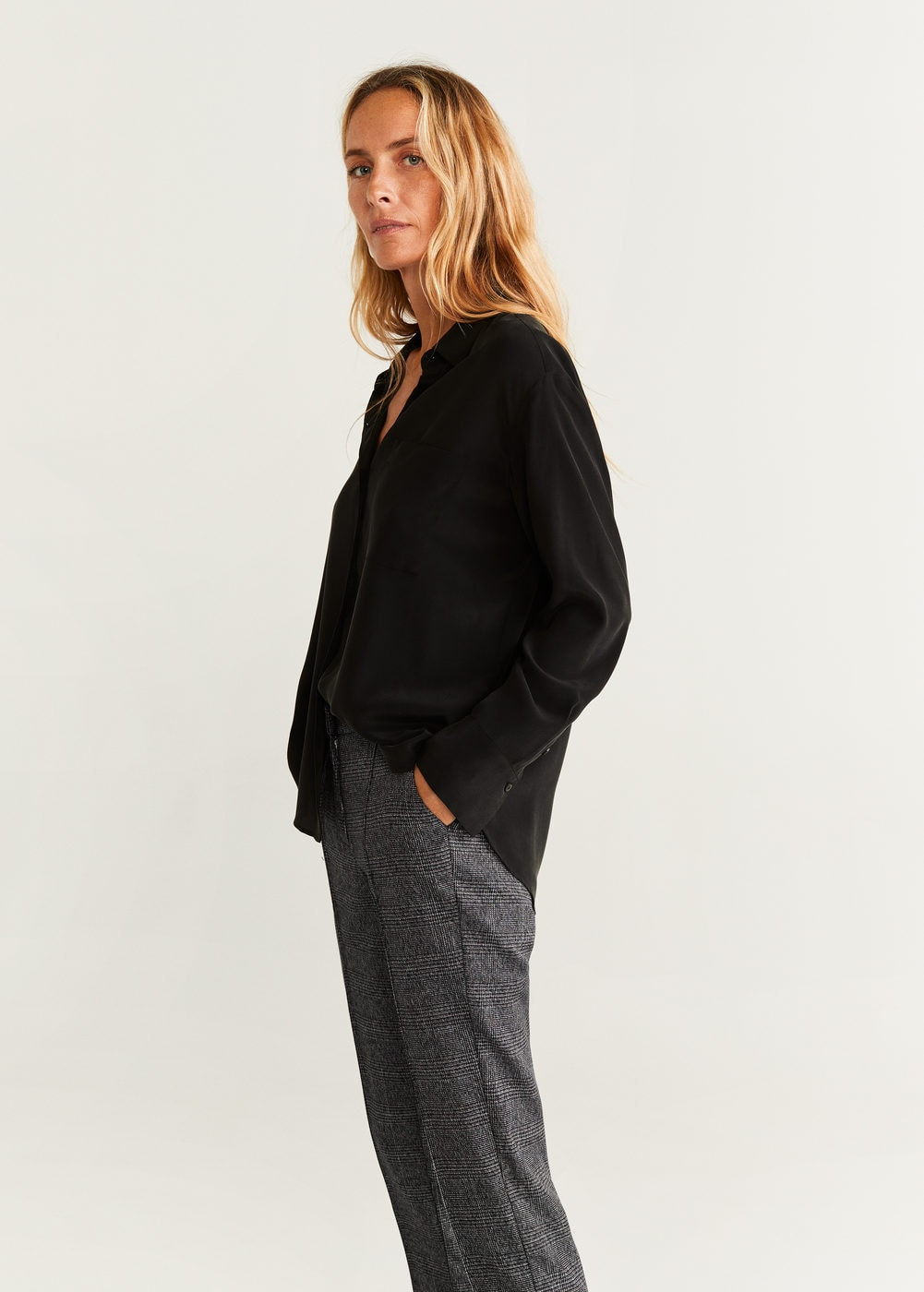 Straight long pants - Women | Mango USA